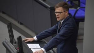 """SPD hält Beschluss der Union zu AfD und Linke für """"Sauerei"""""""