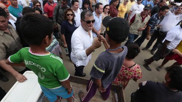Zahl der Toten in Ecuador steigt auf mehr als 500