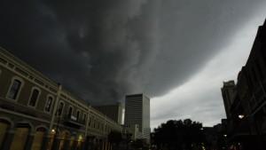 New Orleans gleicht einer Geisterstadt