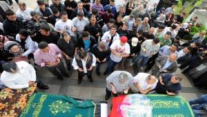 Trauerfeier für die Opfer