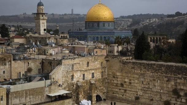 Israels Parlament erschwert mögliche Teilung Jerusalems