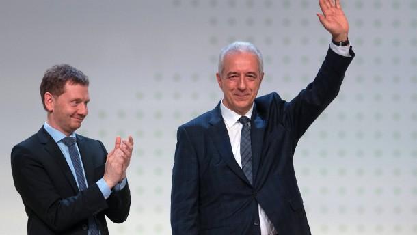 Kretschmer ist neuer sächsischer Ministerpräsident