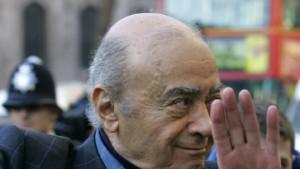 """Al Fayed beschimpft Prinz Philip als """"Nazi"""" und """"Rassisten"""""""