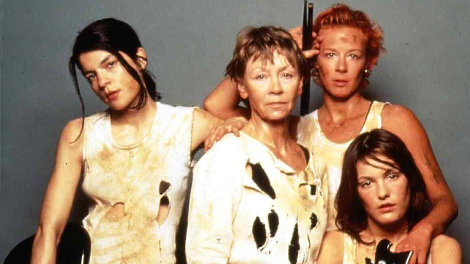 Rockband auf der Flucht: Jasmin Tabatabai, Jutta Hoffmann, Katja Riemann, Nicolette Krebitz (von links nach rechts)