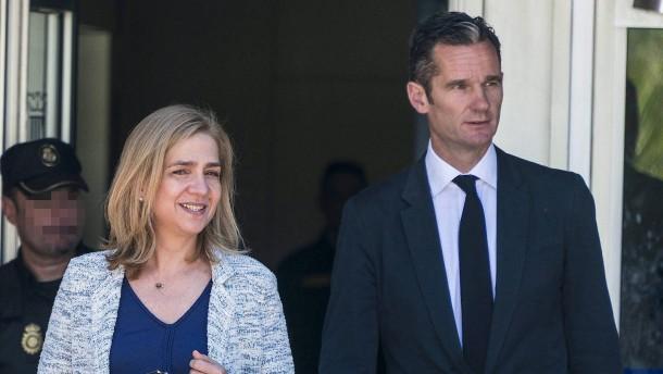 Iñaki Urdangarin bekommt ganze vier Euro Schadenersatz