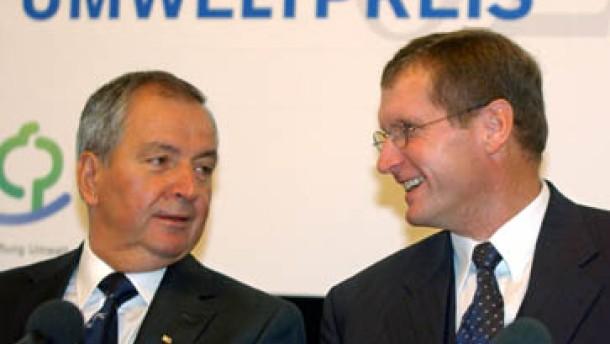 Deutscher Umweltpreis für Klaus Töpfer und Peter Lüth