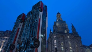 Dresdner Oberbürgermeister verteidigt Aleppo-Kunstwerk