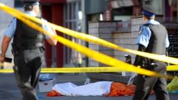 Polizist wird gelobt für Einsatz nach Todesfahrt von Toronto
