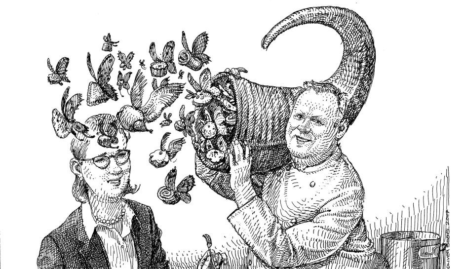 Zum Schluss schüttet Claus-Peter Lumpp so verschwenderisch sein Füllhorn für uns aus, dass alle Mäkelei augenblicklich verstummt.