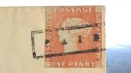 Berühmte Briefmarke: Rote Mauritius wird für mehrere Millionen Euro versteigert