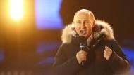 Wladimir Putin ist wieder Präsident in Russland