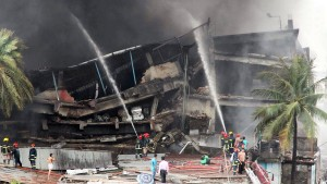 Viele Tote nach Explosion in Fabrik in Bangladesch