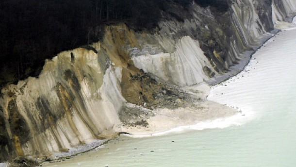 Abermals große Abbrüche an Rügens Kreideküste
