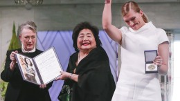 Ehrung der Nobelpreisträger