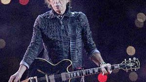 Keith Richards erlitt leichte Kopfverletzung