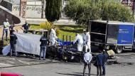 Roma-Schwestern verbrennen in Campingwagen in Rom