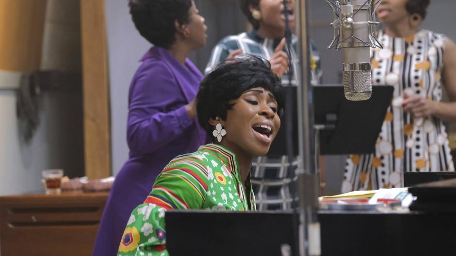 Atmete sich in die Rolle hinein: Cynthia Erivo als Aretha Franklin