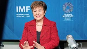 Georgiewa darf IWF-Chefin bleiben