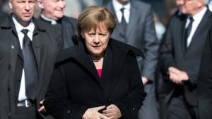 Merkel: Du wirst sehr fehlen