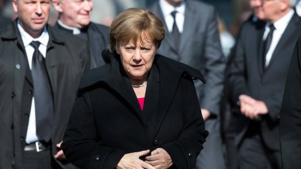"""Merkel: """"Du wirst sehr fehlen"""""""