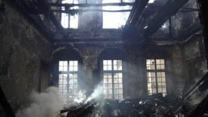 Feuer vernichtet das Versaille von Lothringen