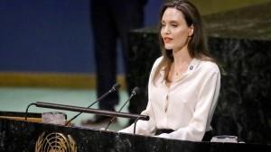 Angelina Jolie setzt sich für stärkeres Engagement Amerikas ein