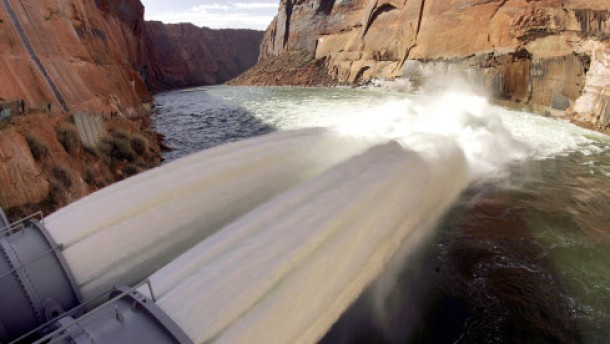 Der Grand Canyon wird geflutet