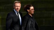 Freundschaftlich getrennt: Christian Lindner und seine Frau Dagmar Rosenfeld
