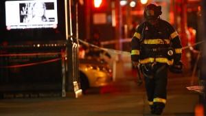 Verletzte bei Explosion in New York