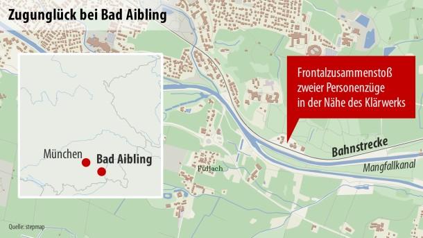 Bilderstrecke Zu Zugunglück Bei Bad Aibling In Oberbayern