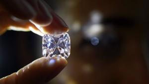 """Legendärer Diamant """"Grand Mazarin"""" geht an Privatsammler"""