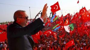 Erdogan wirft Deutschland Unterstützung von Terroristen vor