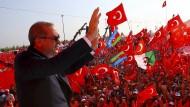 Erdogan beschwört Einheit der Türkei