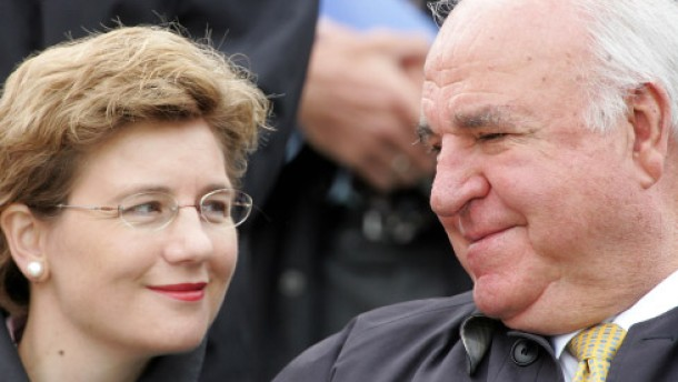 Helmut Kohl hat geheiratet