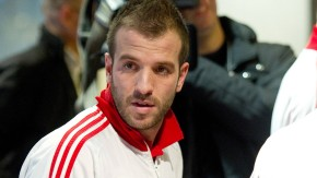 Rafael van der Vaart startet mit HSV ins Trainingslager
