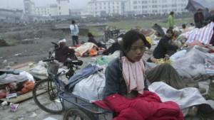 Fast fünf Millionen Obdachlose in Sichuan