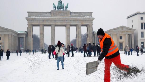 Der Winter ist des Berliners natürlicher Feind