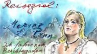 """""""Ich fahre nach Berchtesgaden"""": Marine Le Pen in den Augen von Karl Lagerfeld"""