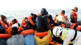 Über 250 Menschen auf See gerettet
