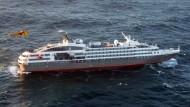 Hunderte gerettet nach Brand auf Kreuzfahrtschiff