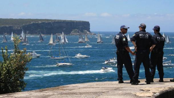 Sydney gibt sich unbeschwert und locker