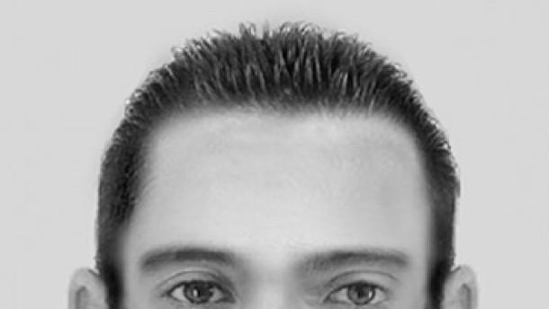 Polizei sucht Verdächtigen mit Phantombild