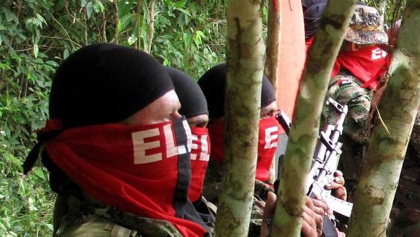 Zwei Deutsche Geiseln der Guerrilla