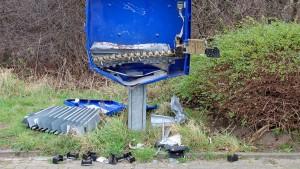 Mann sprengt Kondomautomat und stirbt