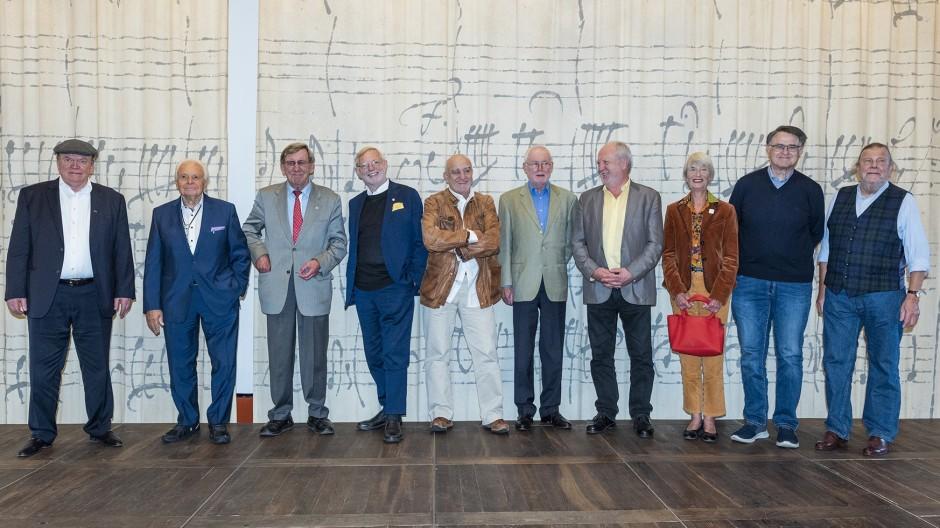 Neun deutsche Sterneköche und Barbara Siebeck in Dresden