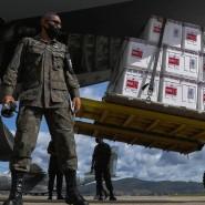 Kein Krieg, aber Militäreinsatz: Brasilien hat per Notfallzulassung die Corona-Impfstoffe von Sinovac und Astra-Zeneca freigegeben, sodass die Luftwaffe mit der Verteilung der ersten Dosen beginnen konnte.