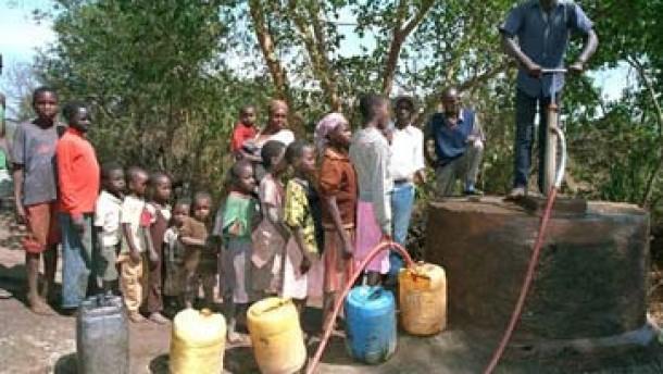 Brunnen Afrika Wasser