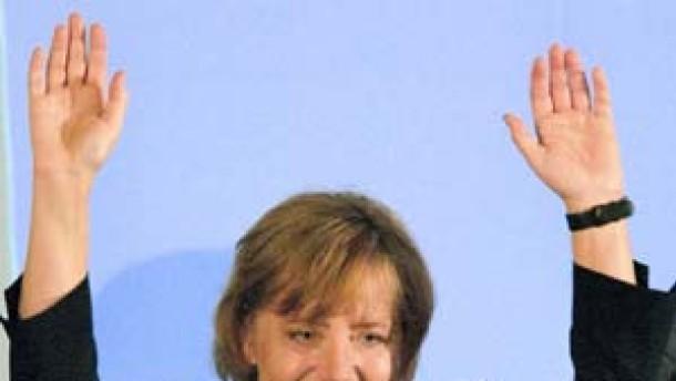 Spitzenergebnis für Merkel
