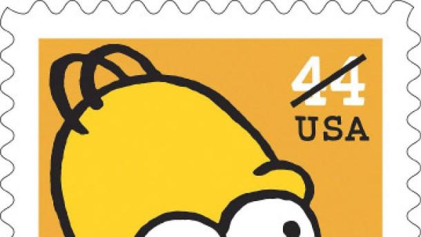 Die Simpsons - jetzt auch zum Kleben