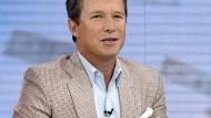 NBC-Moderator Billy Bush (hier im Studio) sagt, seine Äußerungen aus dem Jahr 2005 machten ihn betreten und beschämt.